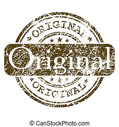 kantoor, postzegel, -, eps, rubber, original., 8