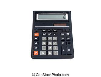 kantoor, rekenmachine