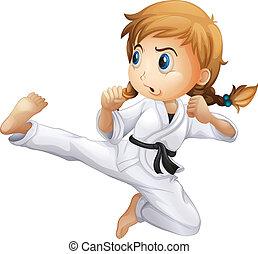 karate, vrouwlijk