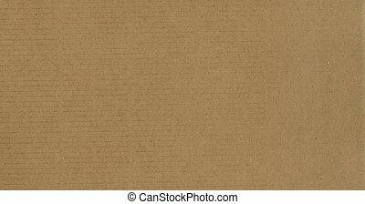 karton, bruine