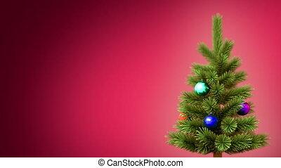 kerstmis, achtergrond, boompje