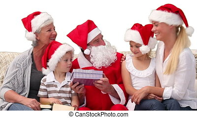 kerstmis, alles, gezin