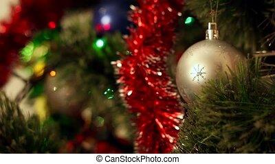 kerstmis-boom, decoraties