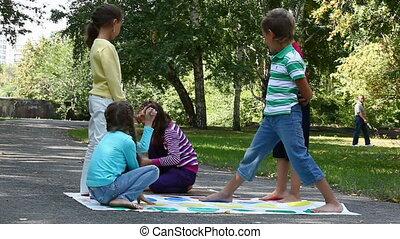 kinderen, park