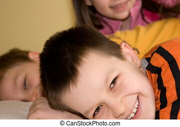 kinderen, vrolijke