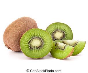 kiwi fruit, segmenten, geheel, zijn