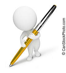 kleine, people-pen, 3d