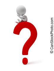 kleine, people-question, 3d