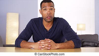 klesten, fototoestel, zwarte man