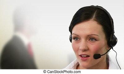 klesten, receptionist