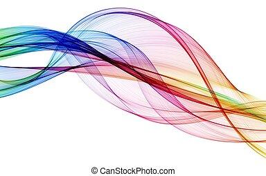 kleur, abstract, samenstelling