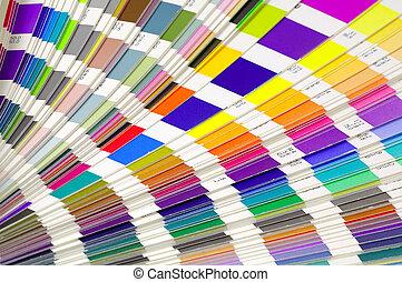 kleur swatches