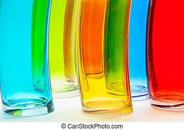 kleurrijke, bril
