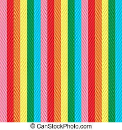kleurrijke, textured, seamless, strepen