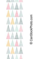 kleurrijke, verticaal, model, abstract, seamless, textiel, achtergrond, textured, driehoeken