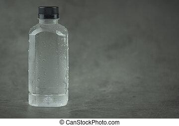 koel, fles, water, drinkt
