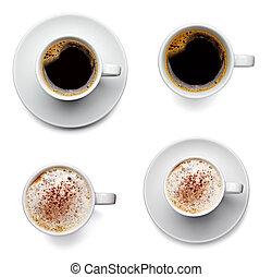 koffie drinken, kop