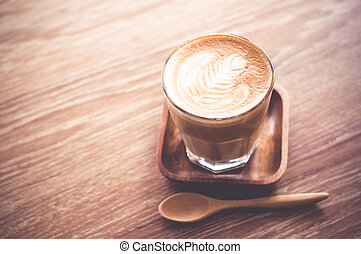 koffie, latte