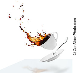 koffie, verspillen
