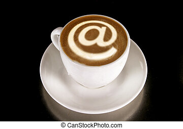 koffiehuis, internet