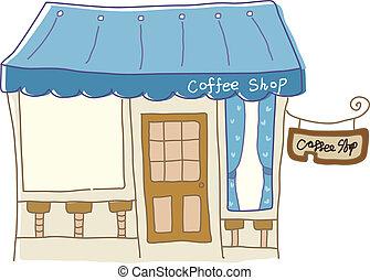 koffiehuis, pictogram
