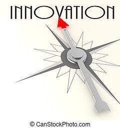 kompas, woord, innovatie