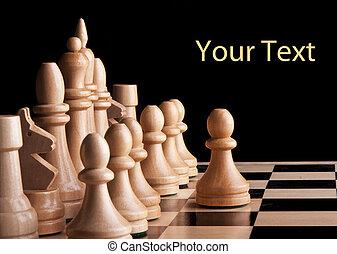 koning, spel, strategie, plank, schaakspel