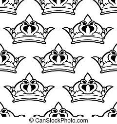 koninklijke kroon, seamless, model