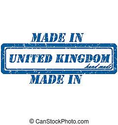koninkrijk, postzegel, verenigd