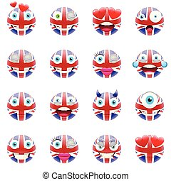 koninkrijk, vlag, verenigd, emojis