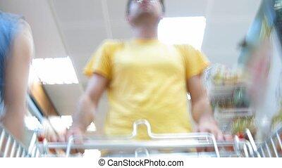 koper, voedingsmiddelen, winkel