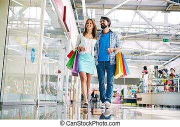 kopers, nieuw, mall