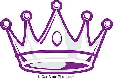 kroon, zilver