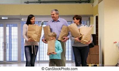 kruidenierswaren, gezin