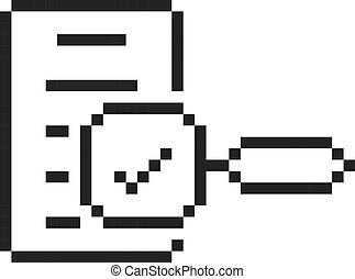 kunst, black , schating, beetje, pixel, 8, logo