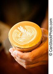 kunst, latte