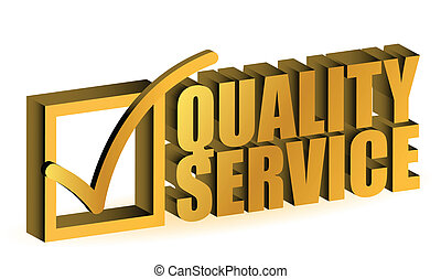 kwaliteit, dienst