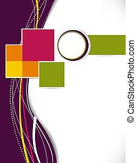 laag, zakelijk, abstract, template., achtergrond., flyer, informatieboekje , of