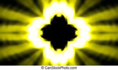 lancering, boeddhisme, bloem, lotus, stralen