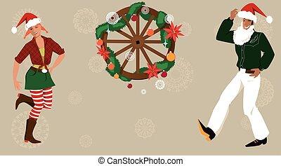 land kerst