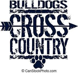 land, kruis, bulldogs
