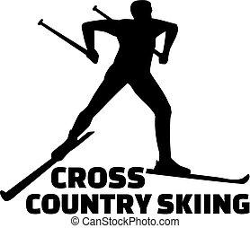 land, kruis, skien