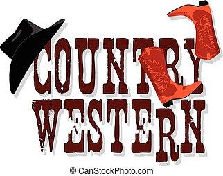 land, spandoek, westelijk
