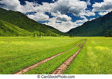 landscape, berg