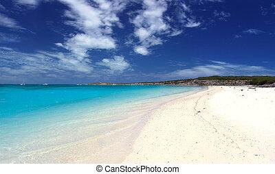 landschap, strand