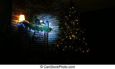 lantaarntje, licht, kousjes, kerstman