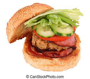 lave hamburger