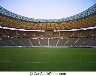 lege, stadion