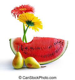 lente, watermeloen