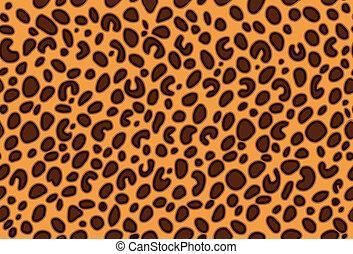 leopard huid